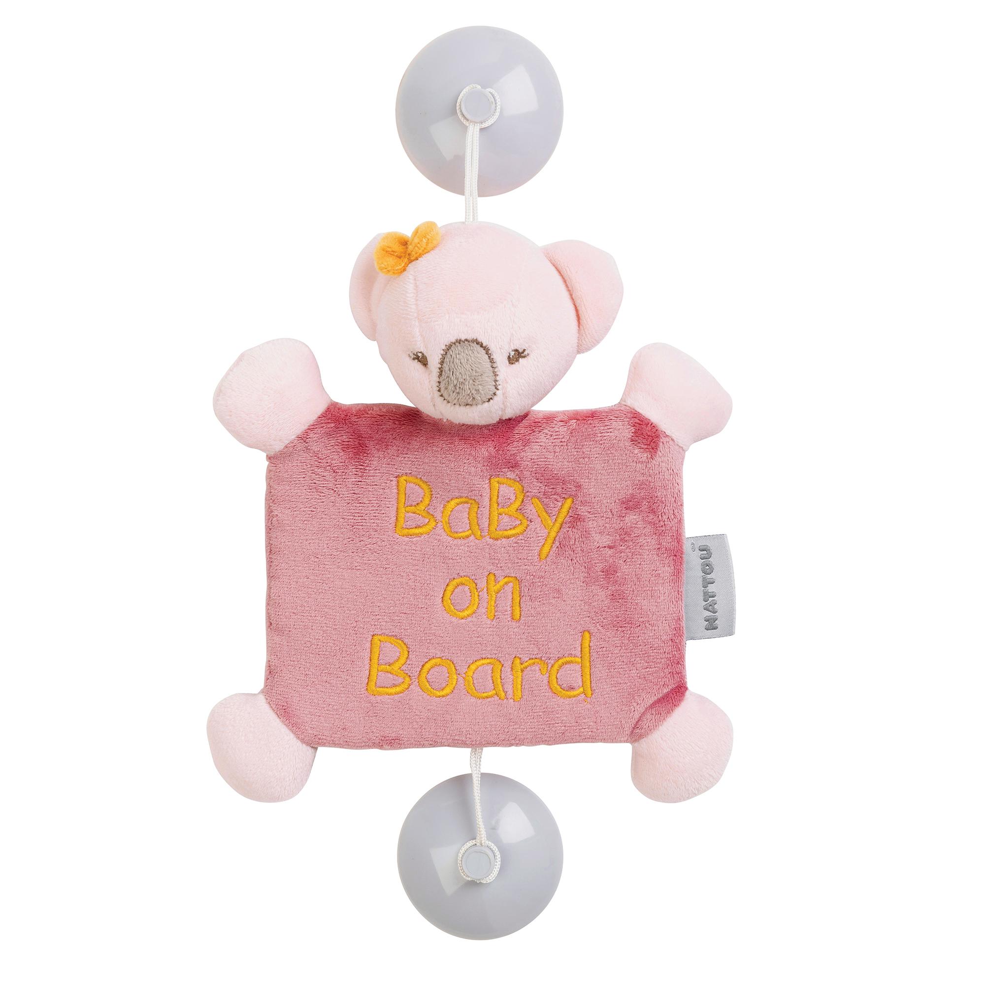 IRIS & LALI Baby on Board Iris le koala ROSE Nattou