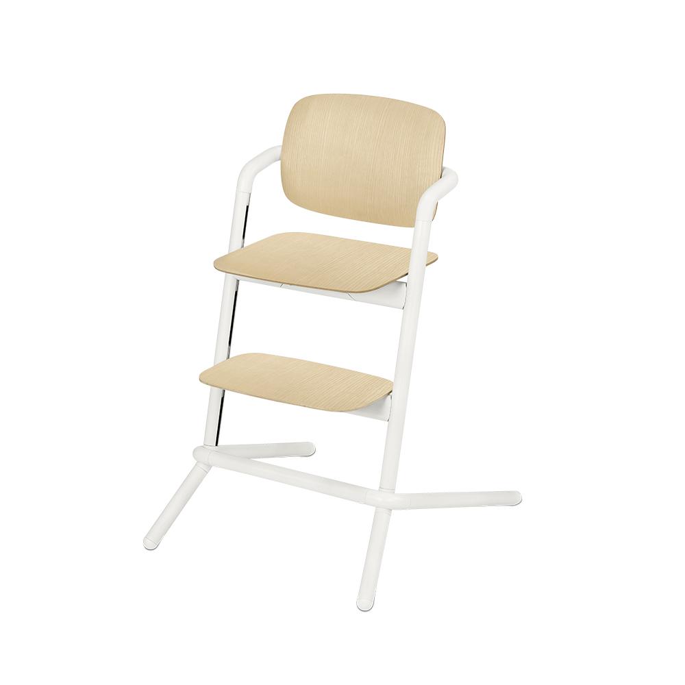 Chaise haute bois Lemo BLANC Cybex
