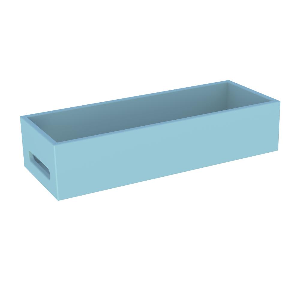 Boite multif box medium pour les commodes les armoires et les coffres Finition couleur à l'eau BLEU Théo