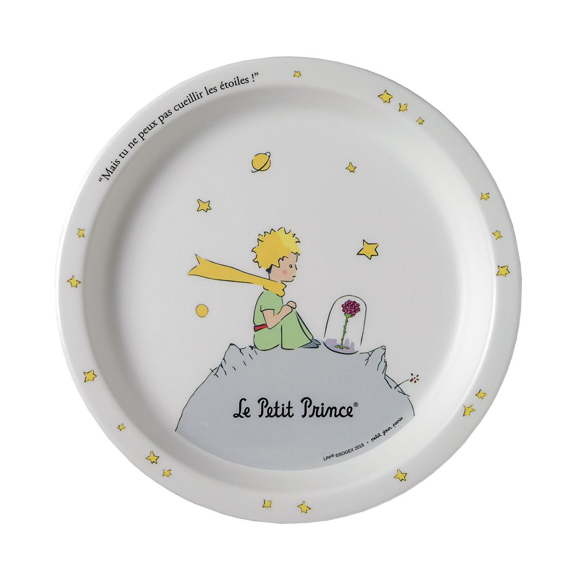 Assiette bébé Petit Prince BLANC petit jour paris