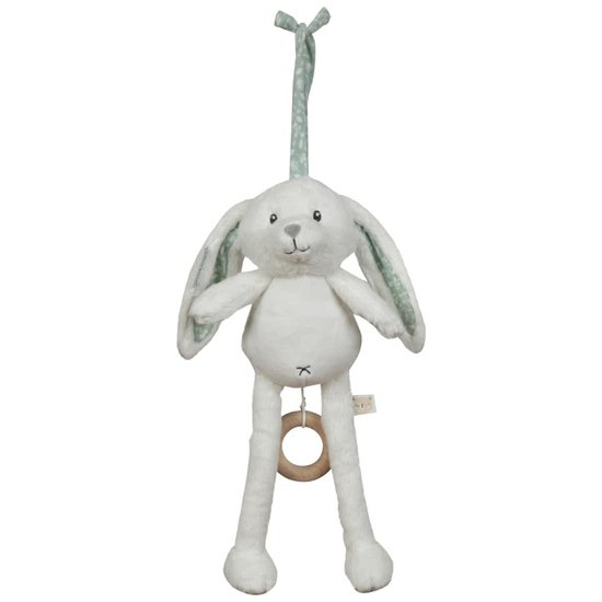 Peluche musicale Lapin