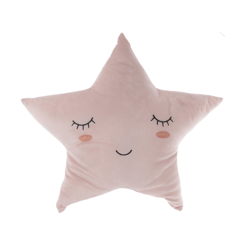Coussin étoile mémoire ROSE Atmosphéra créateur d'intérieur for kids