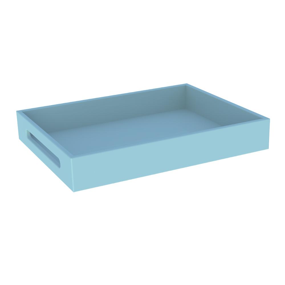 Boite multif box maxi pour les commodes les armoires et les coffres Finition couleur à l'eau BLEU Théo