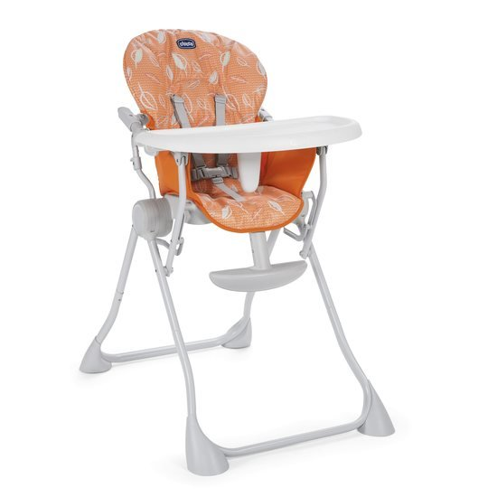 Chicco Chaise haute Pocket Meal happy orange