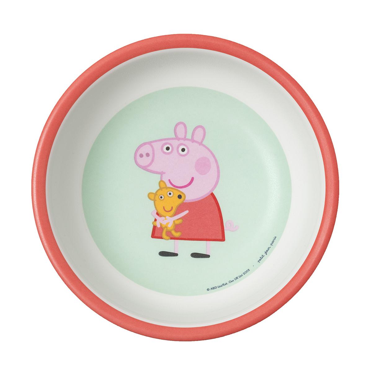 Bol Peppa Pig ROUGE petit jour paris