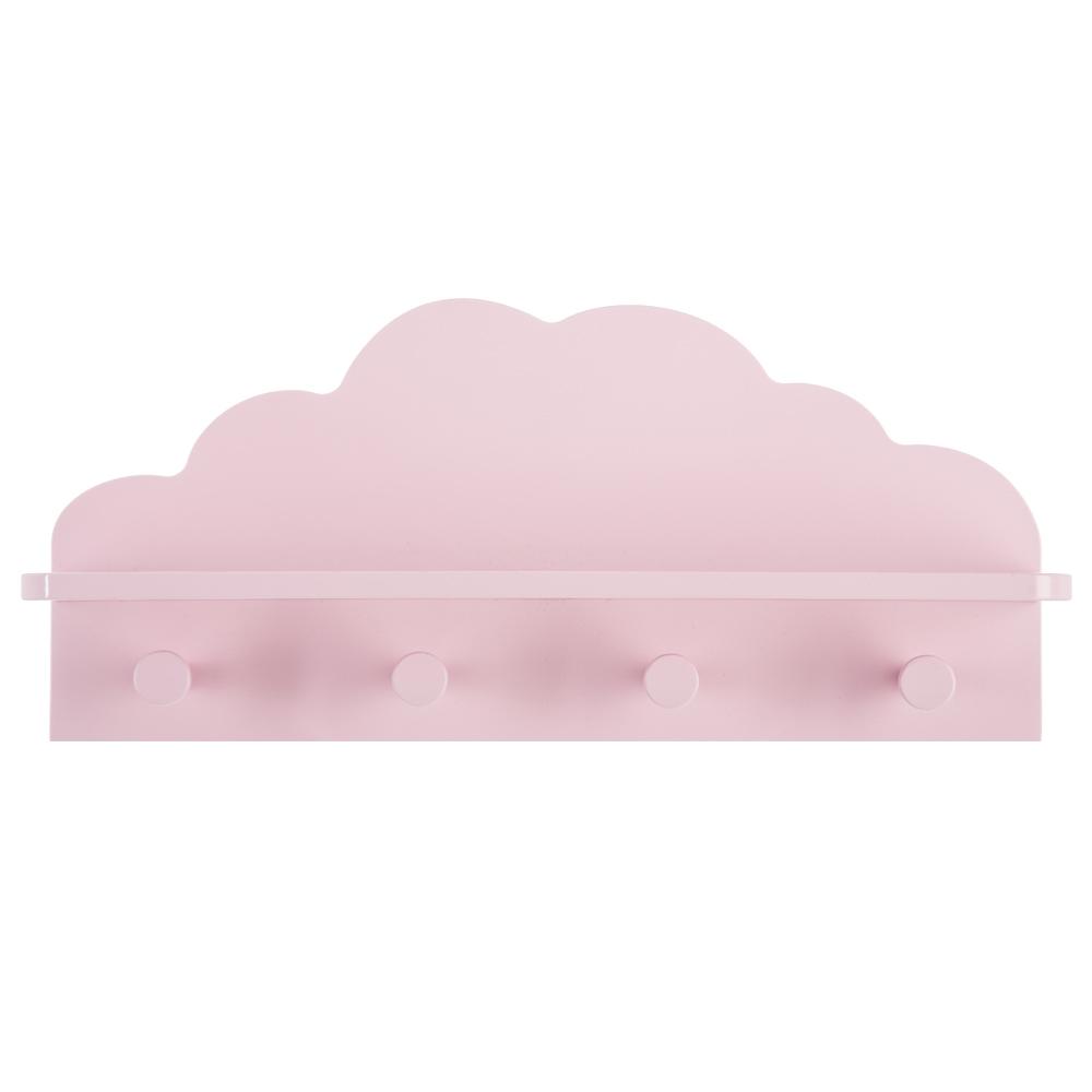 Patère nuage 4 crochets ROSE Atmosphéra créateur d'intérieur for kids