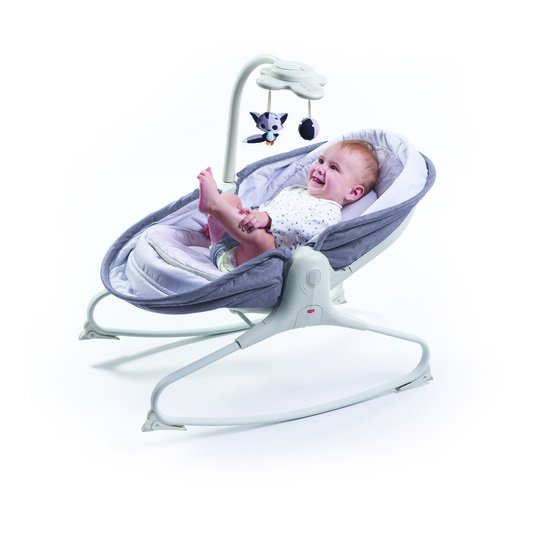 Tiny Love Transat rocker napper evolution Gris chiné