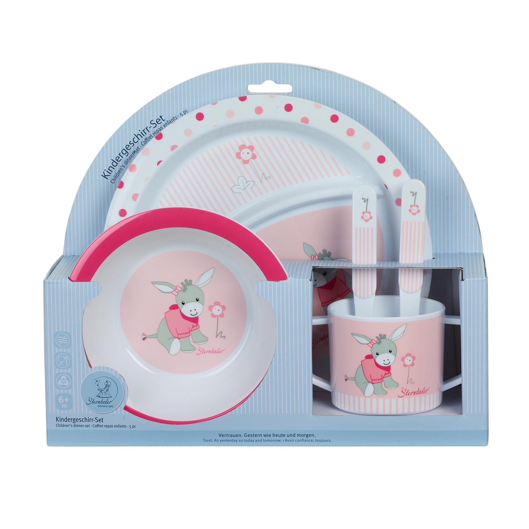 Coffret vaisselle/couverts Emmi Girl MULTICOLORE Sterntaler