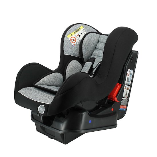 Formula Baby Siège auto Cosmo Luxe + base inclinable Gris chiné