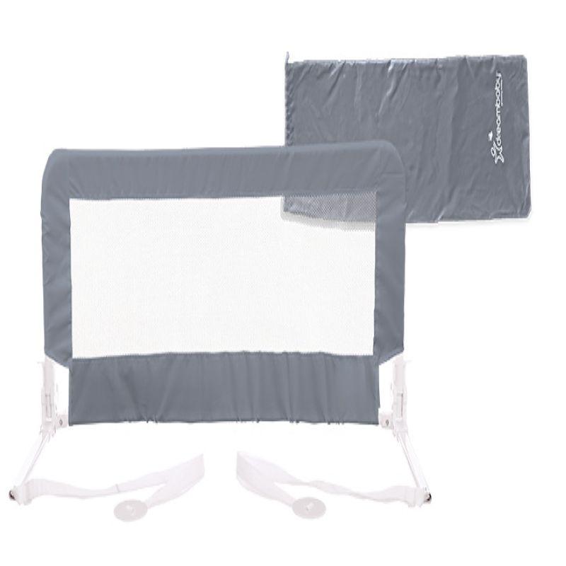 Barrière de lit prague petite boîte slimline GRIS Dreambaby