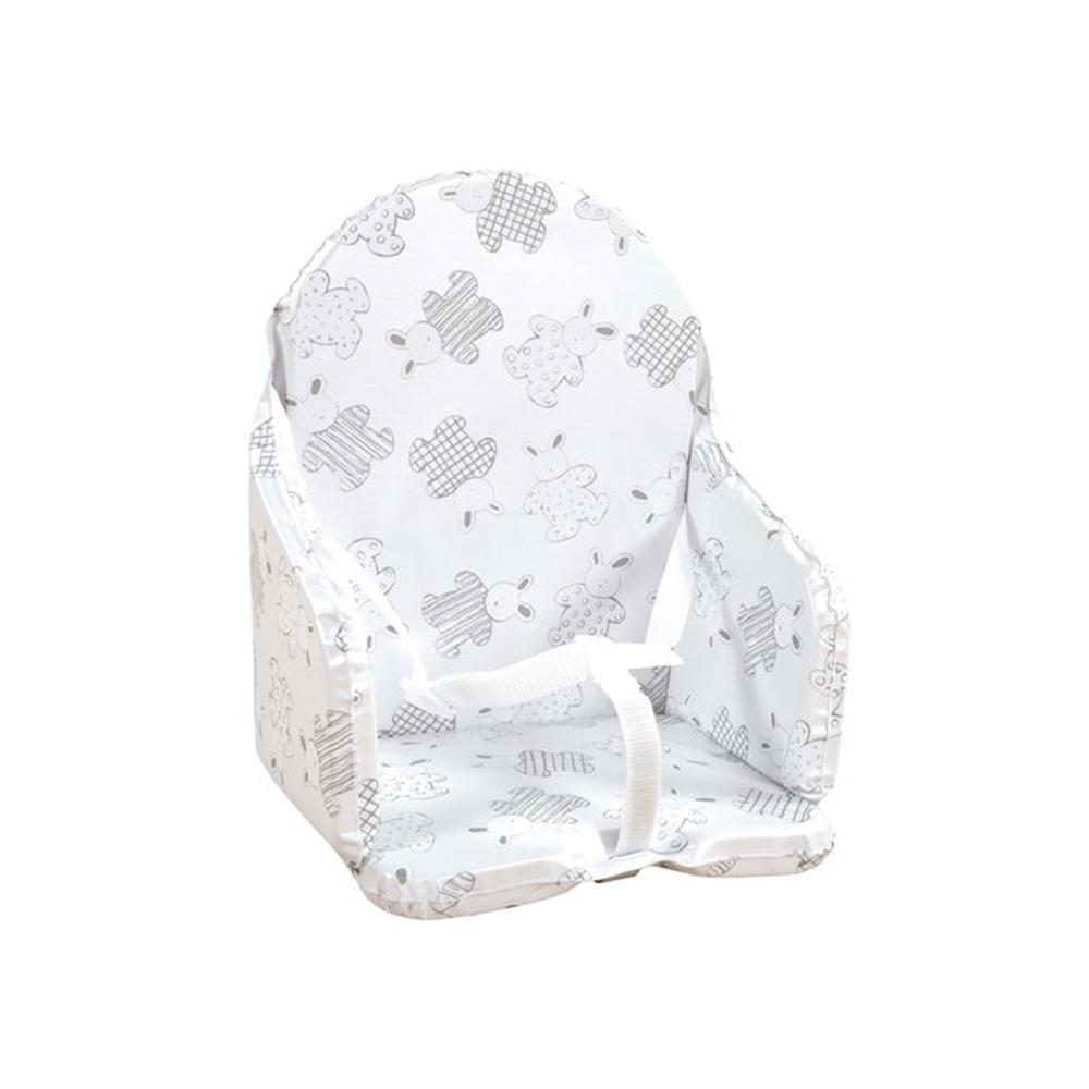 Coussin de chaise en PVC avec sangles MULTICOLORE Looping