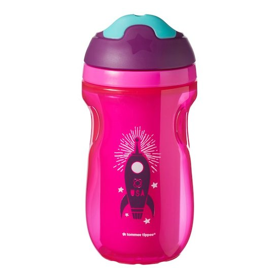 Tommee Tippee Tasse à bec isotherme FILLE EXPLORA