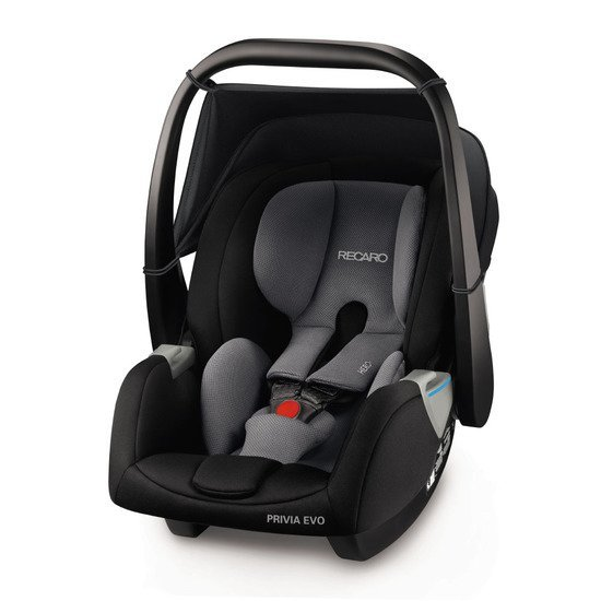 Recaro Coque Privia Evo Carbon Black