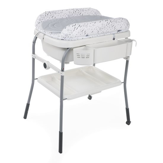 Chicco Combi Bain - Change Cuddle & Bubble cool grey