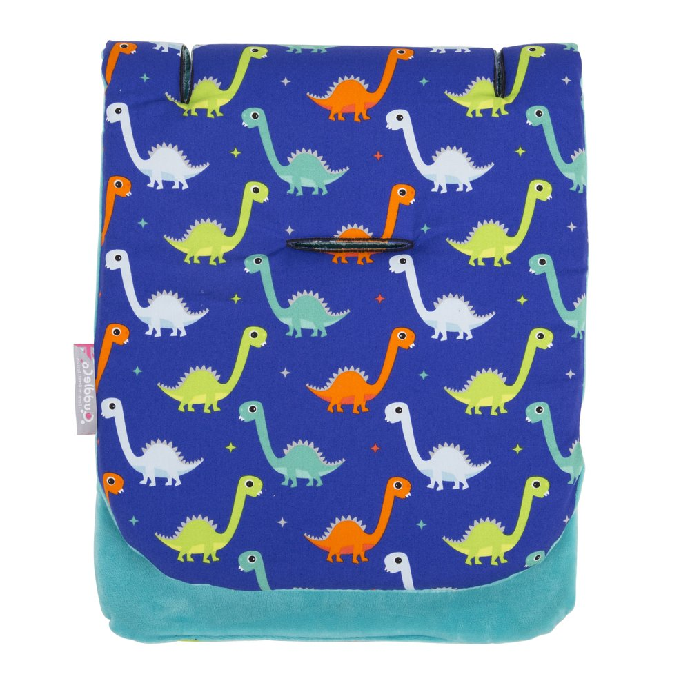 Cuddleco Assise poussette Dinosaures fun