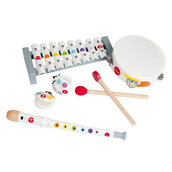 Janod Set musical confetti multicolore