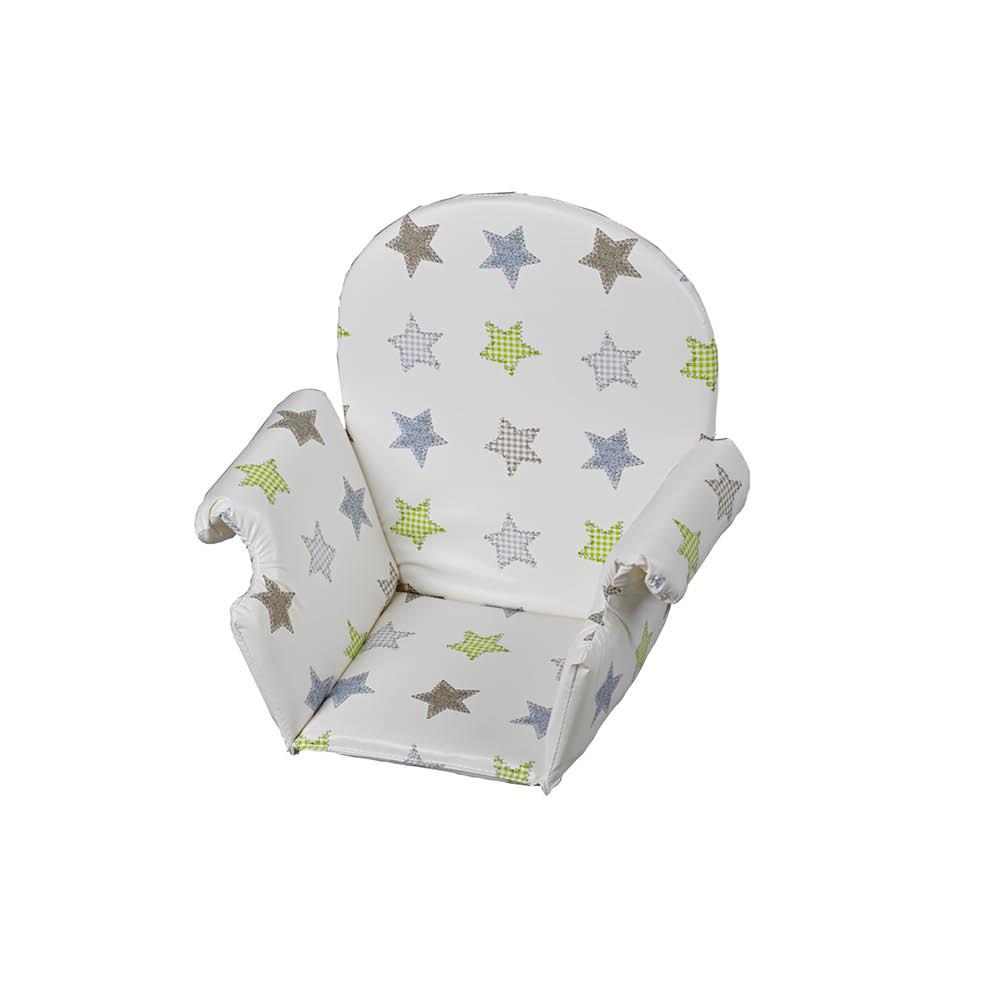 Coussin Chaise Souple Plastique BLANC Geuther