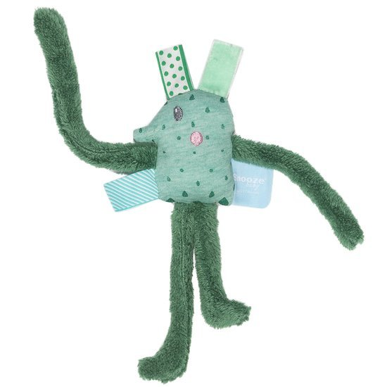 Snoozebaby Mini peluche Larry Long Forest Green 20 cm