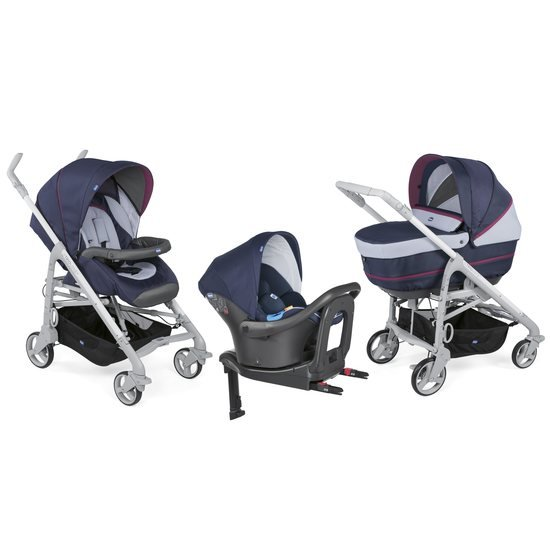 Chicco Pack trio poussette Love Up I-Size Bebecare Earl grey