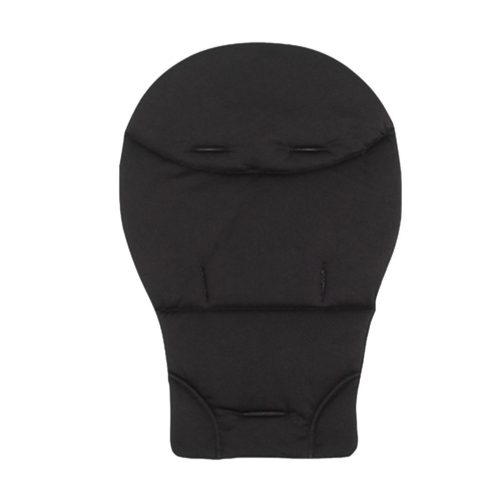 Coussin confort pour poussette/transat/chaise haute NOIR Babybus