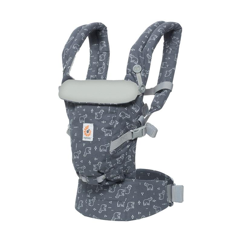 Porte-bébé Adapt GRIS ERGObaby