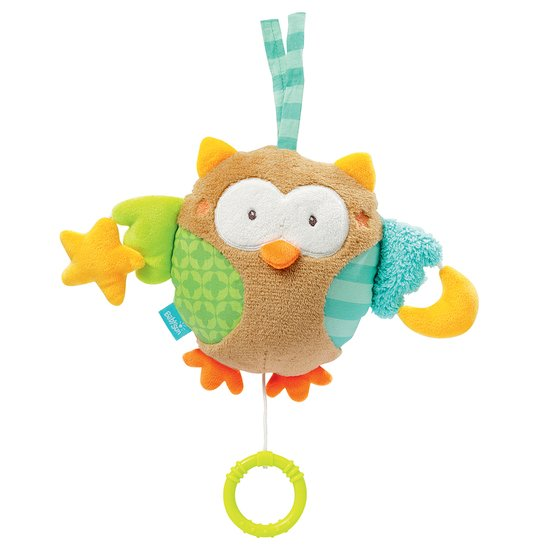 Peluche musicale Hibou Sleeping Forest