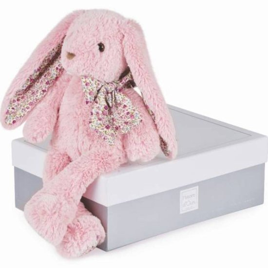 Histoire d'Ours Peluche Lapin Rose 25