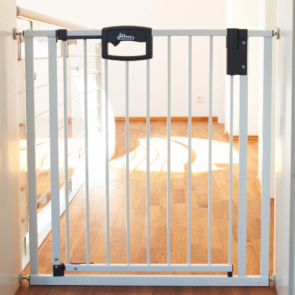 Barrière Easylock métal+ pour porte BLANC Geuther