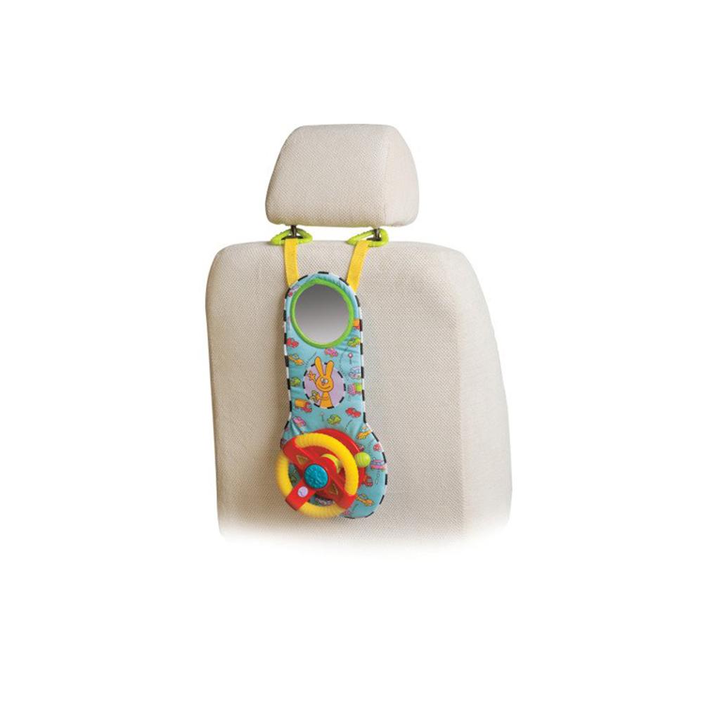 Volant de voiture musical MULTICOLORE Taf Toys