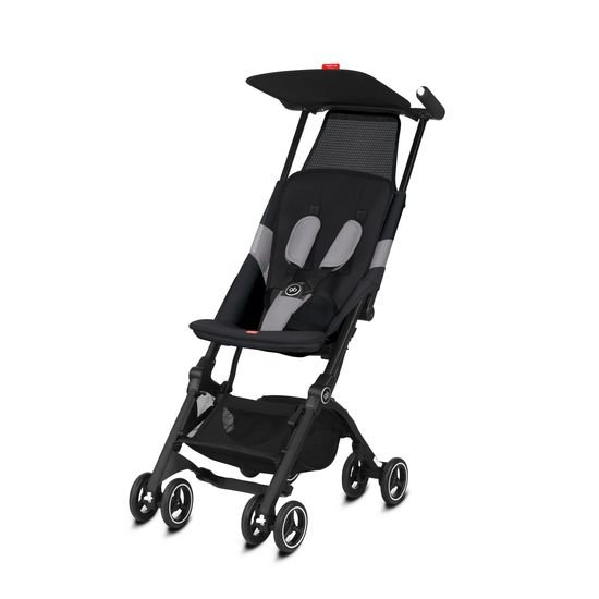 GB Poussette POCKIT AIR TOUT TERRAIN Velvet Black