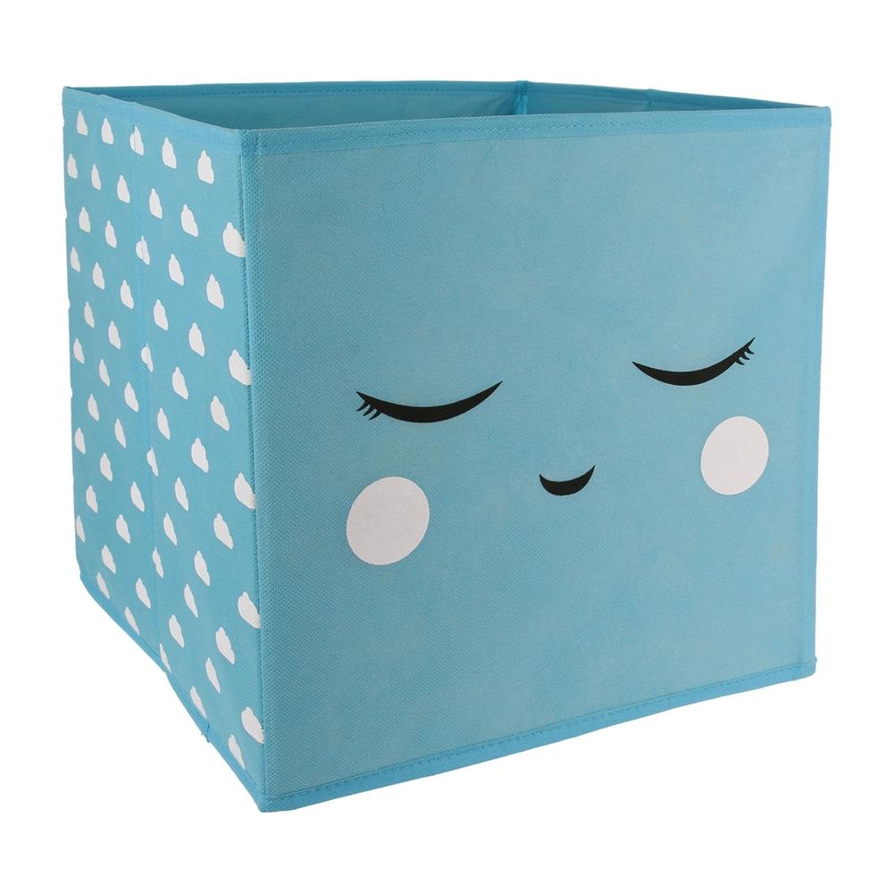 cube de rangement pliable panier et corbeille de hello kids. Black Bedroom Furniture Sets. Home Design Ideas