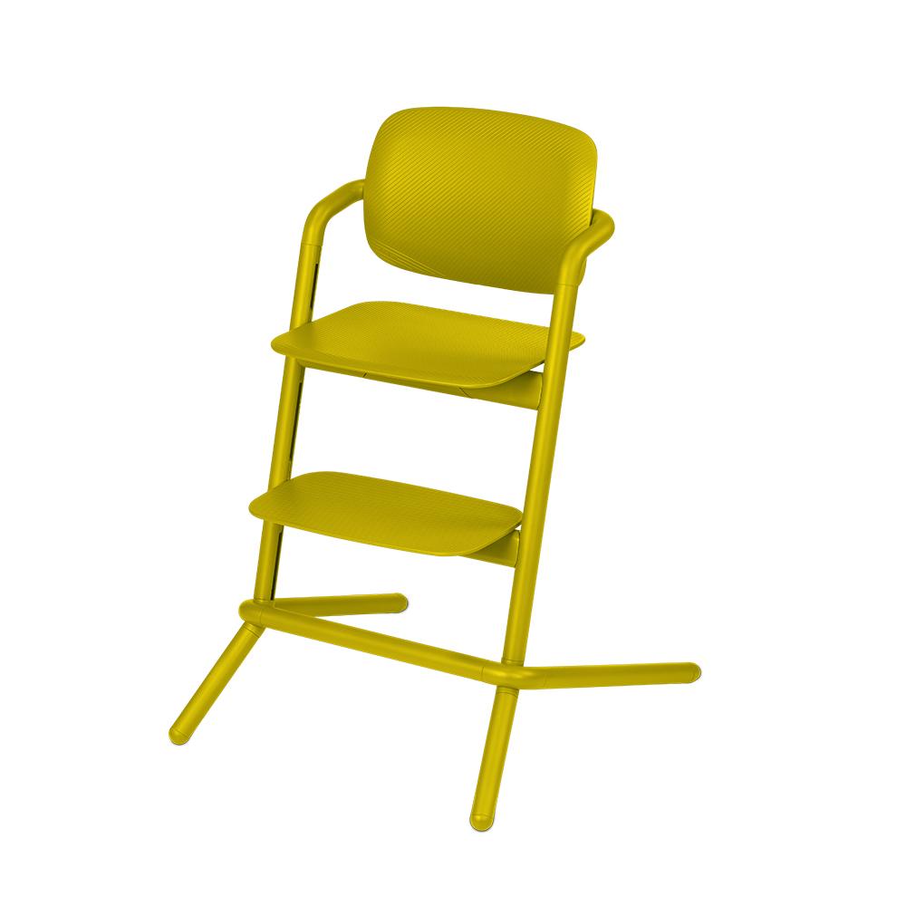 Chaise haute LEMO JAUNE Cybex