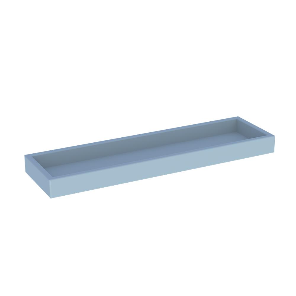 Boite multif box mini pour les commodes les armoires et les coffres Finition couleur à l'eau BLEU Théo
