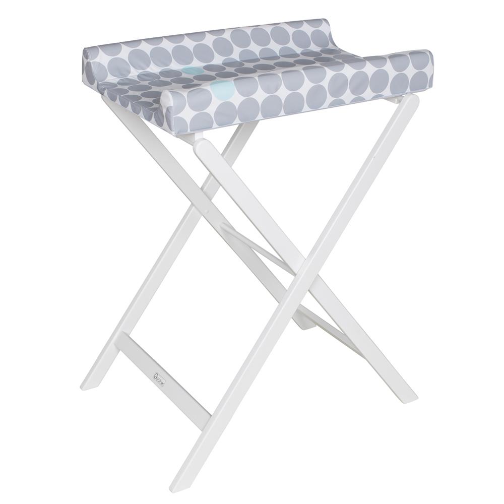 Table + matelas à langer Trixi GRIS Geuther