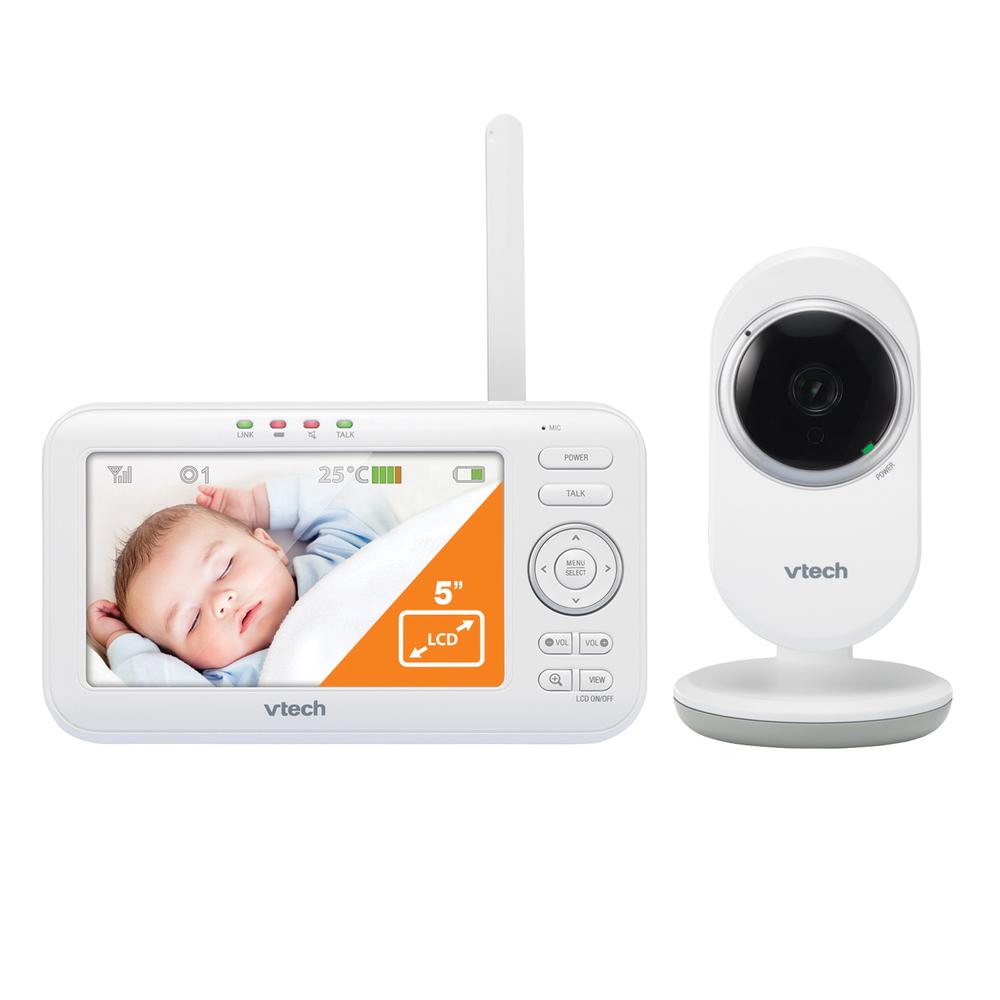 Bm5252 - babyphone vidéo view max BLANC Vtech