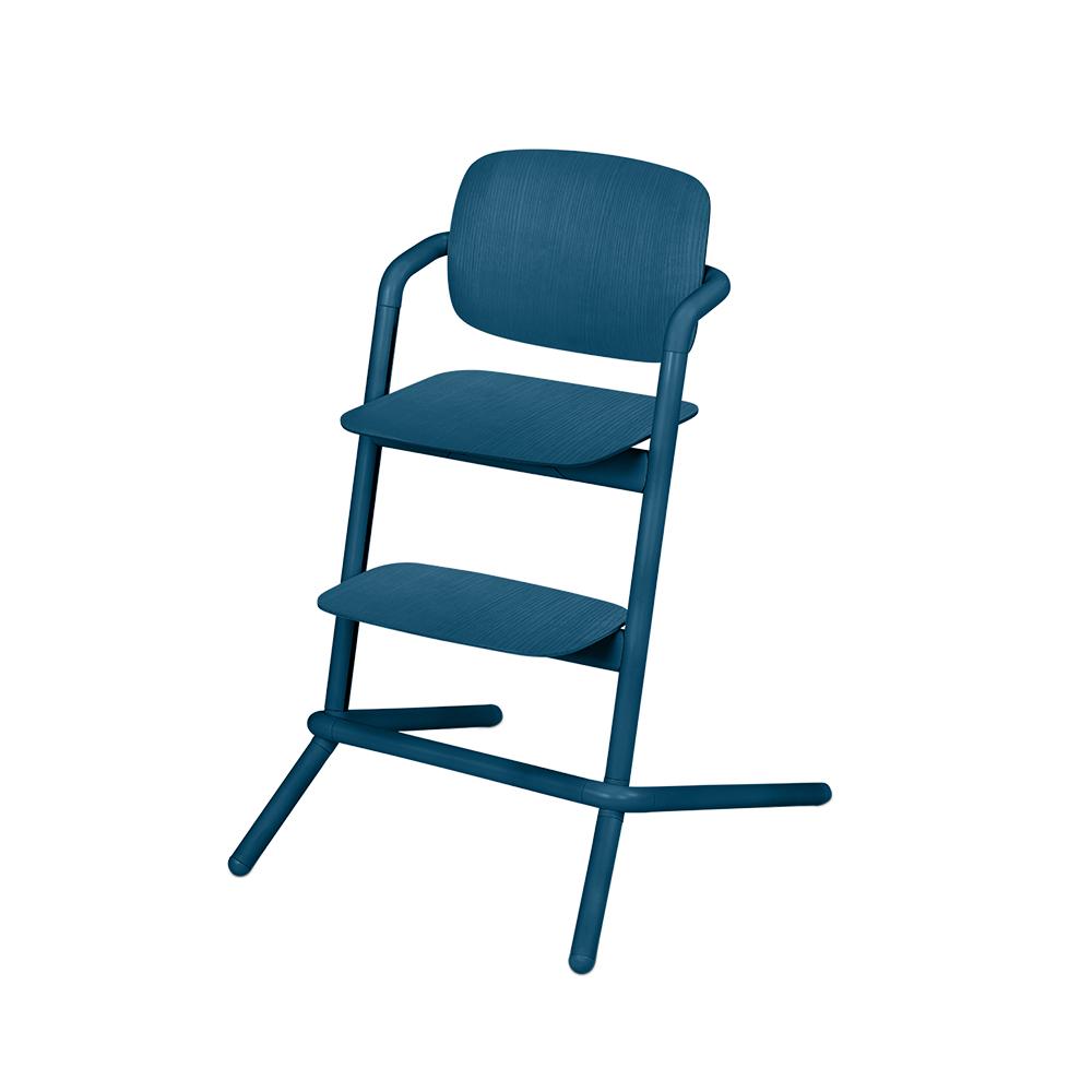 Chaise haute bois Lemo BLEU Cybex