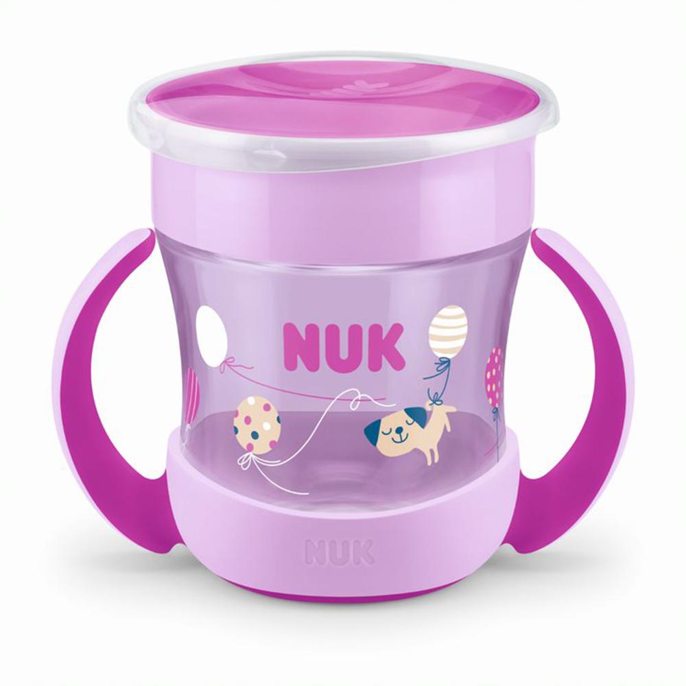 Mini Magic Cup - 360 poignées ROSE Nuk