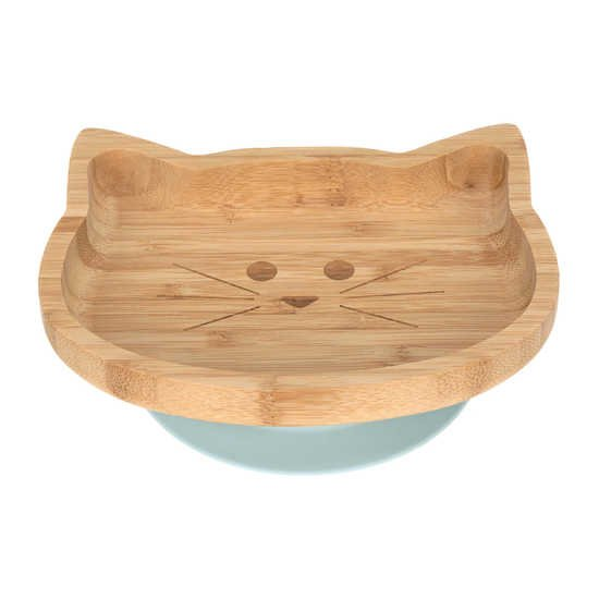 Assiette bambou Little Chums Chat