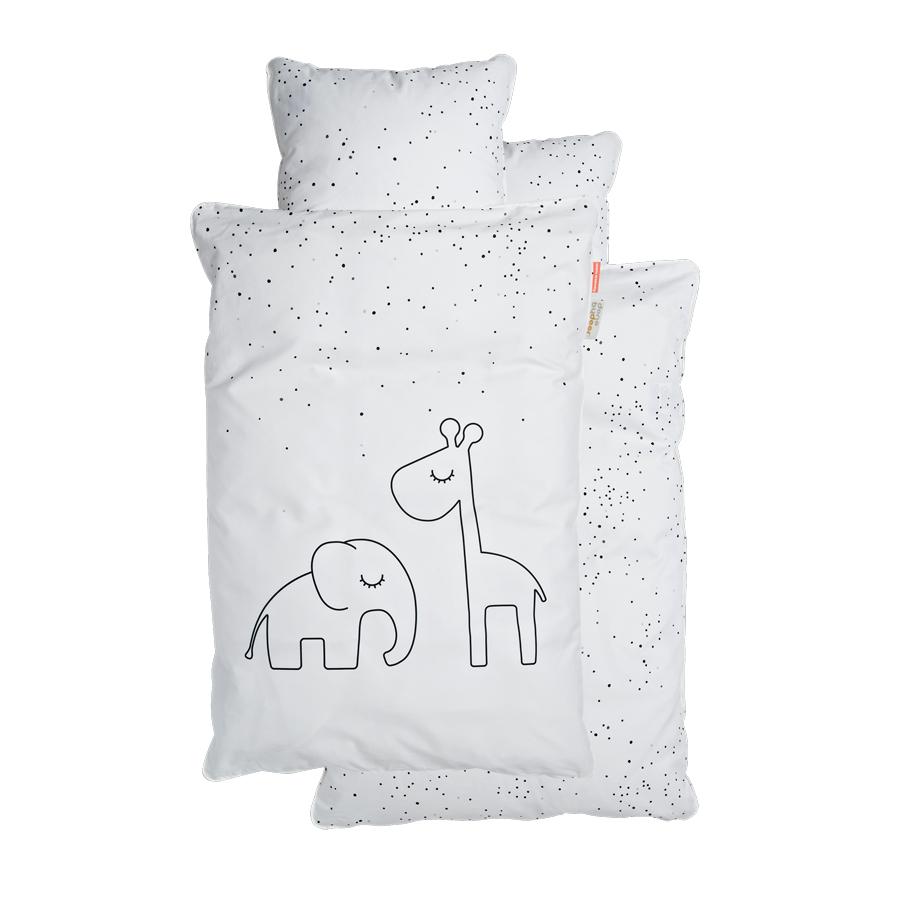 Parure de lit junior Dreamy Dots BLANC Done by Deer