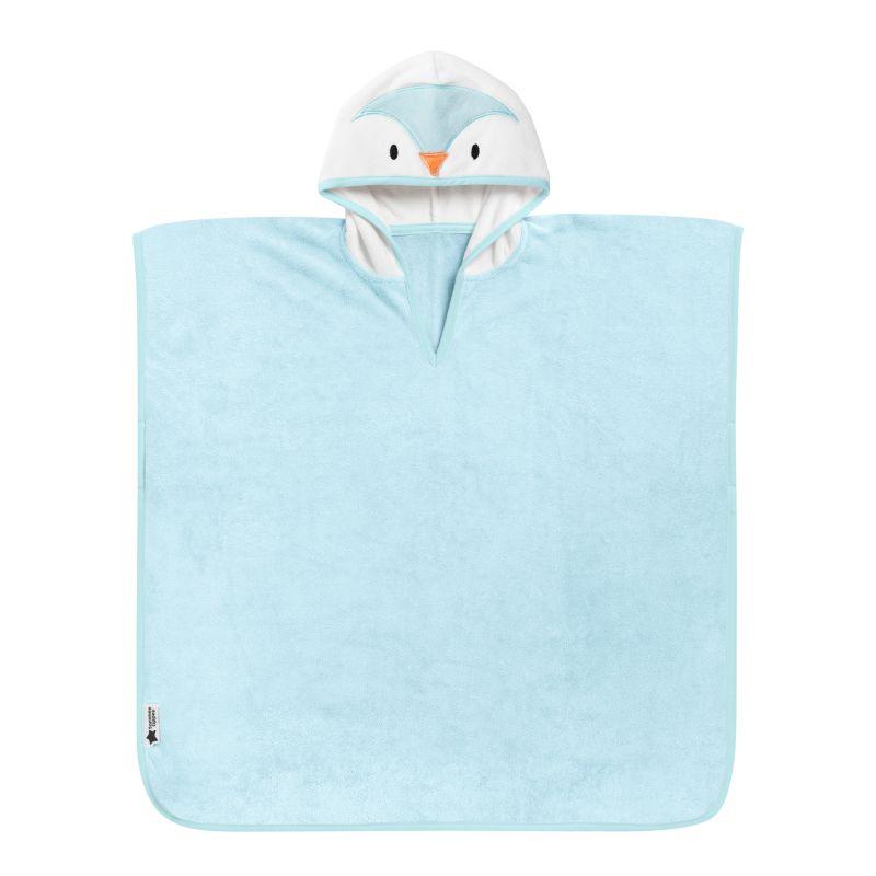 Poncho de bain - Percy le Pingouin BLEU Tommee Tippee