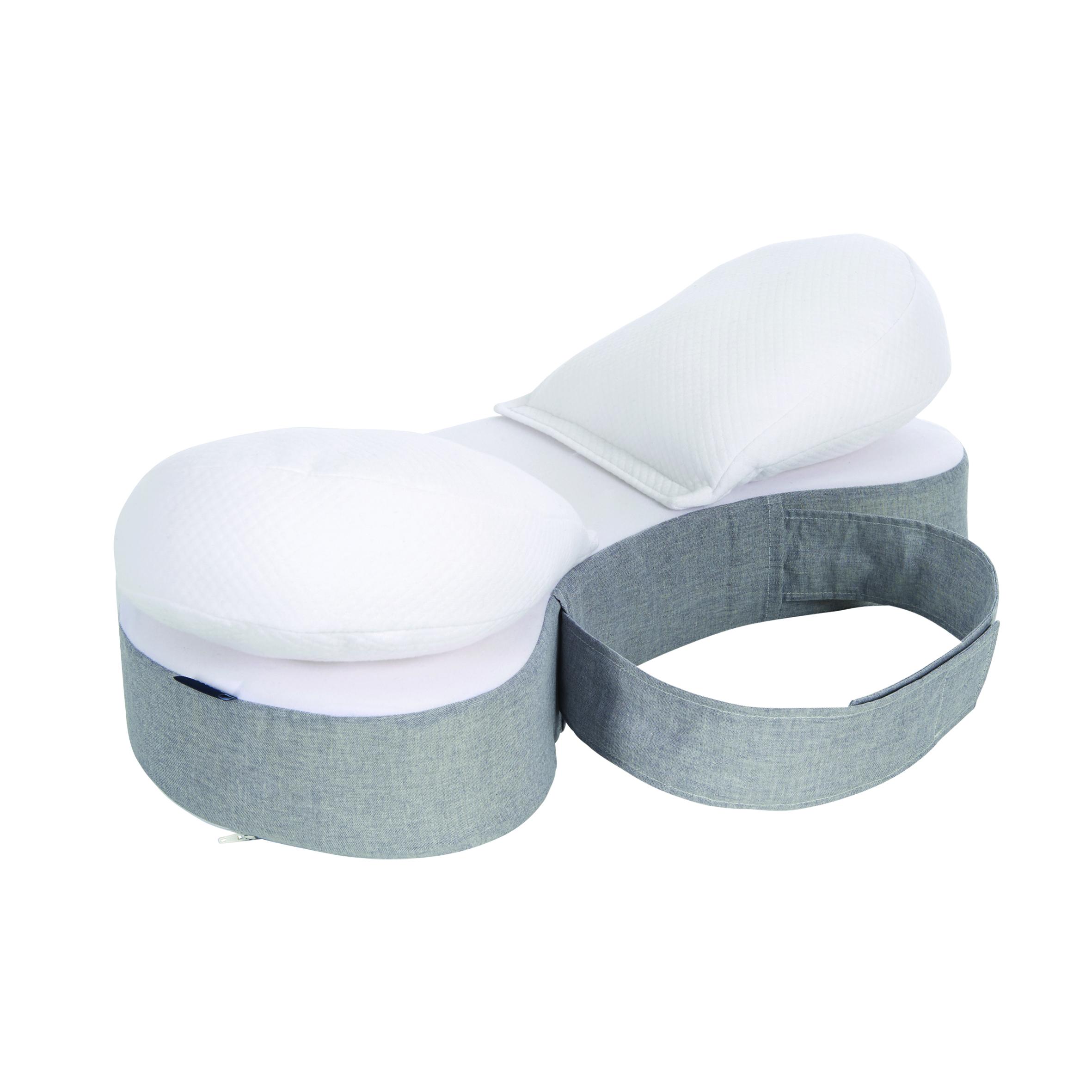 Easy Pillow - Coussin d'allaitement GRIS Candide
