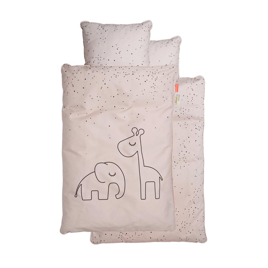 Parure de lit junior Dreamy Dots ROSE Done by Deer