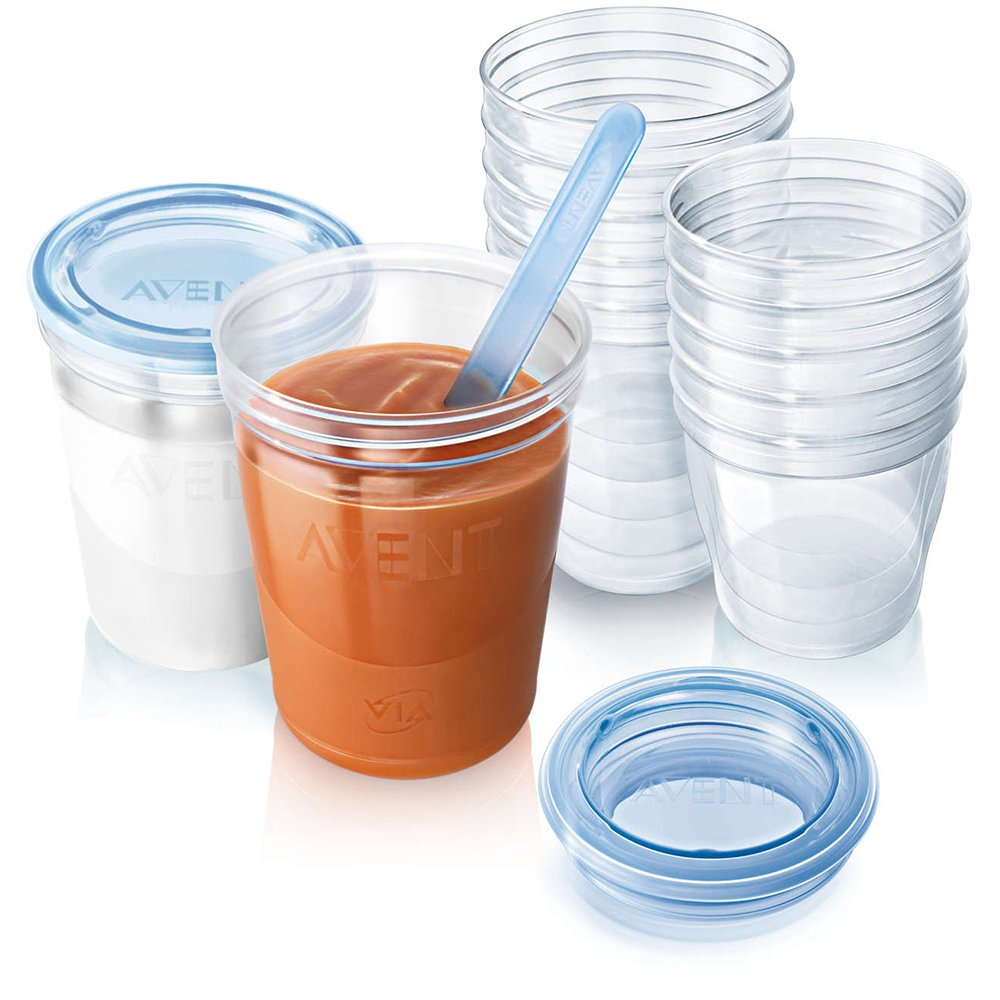Philips Avent Lot de 20 pots de conservation