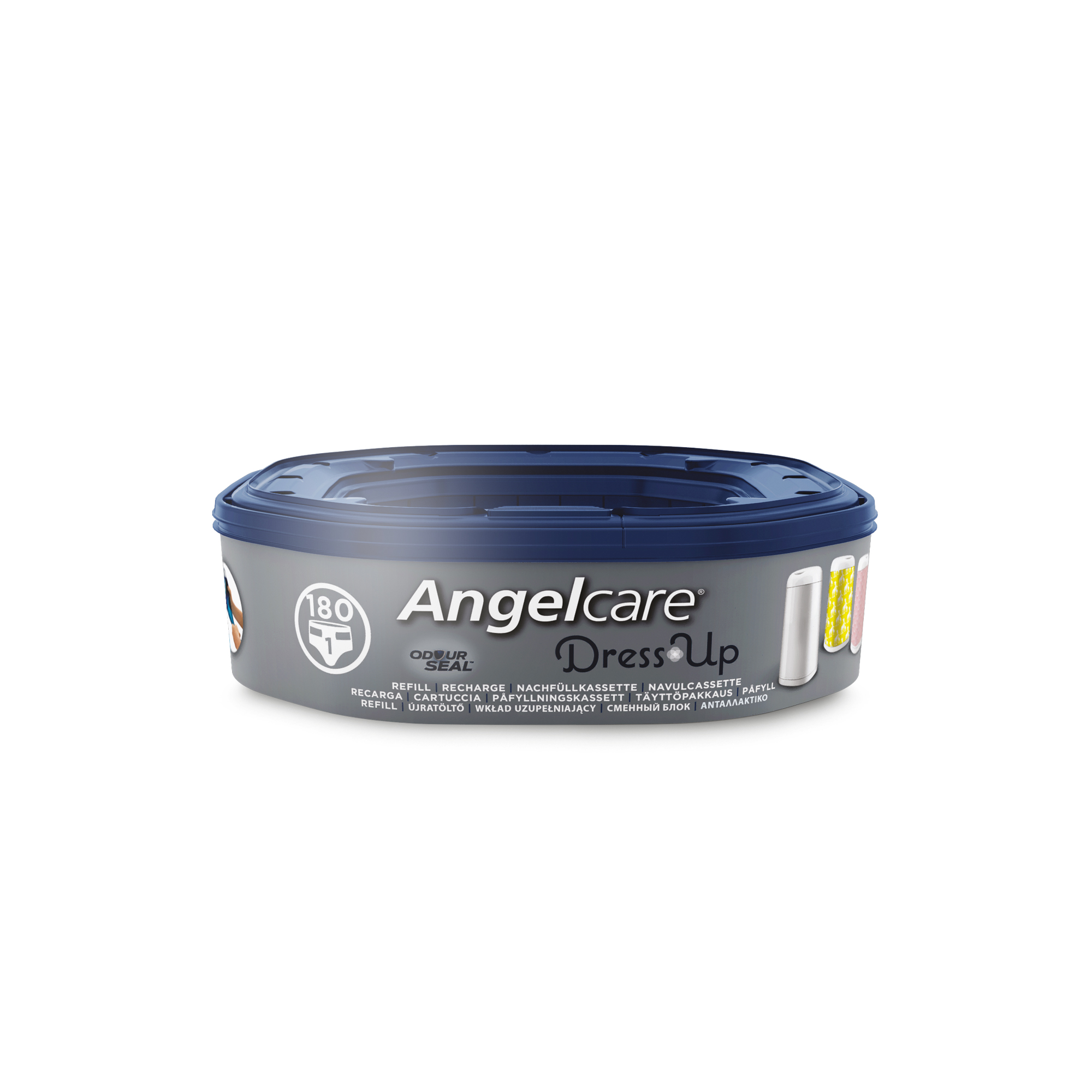 Angelcare 1 recharge octogonale pour poubelle Dress Up