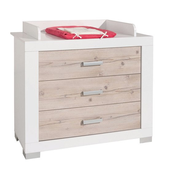 Commode 3 tiroirs + plan Ayden