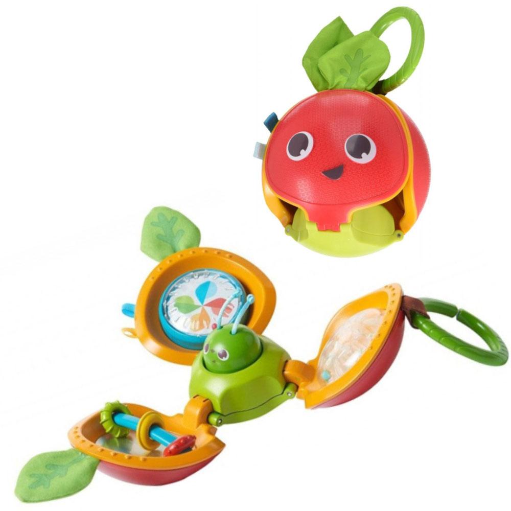 Jouet d'éveil Pomme du petit explorateur ROUGE Tiny Love