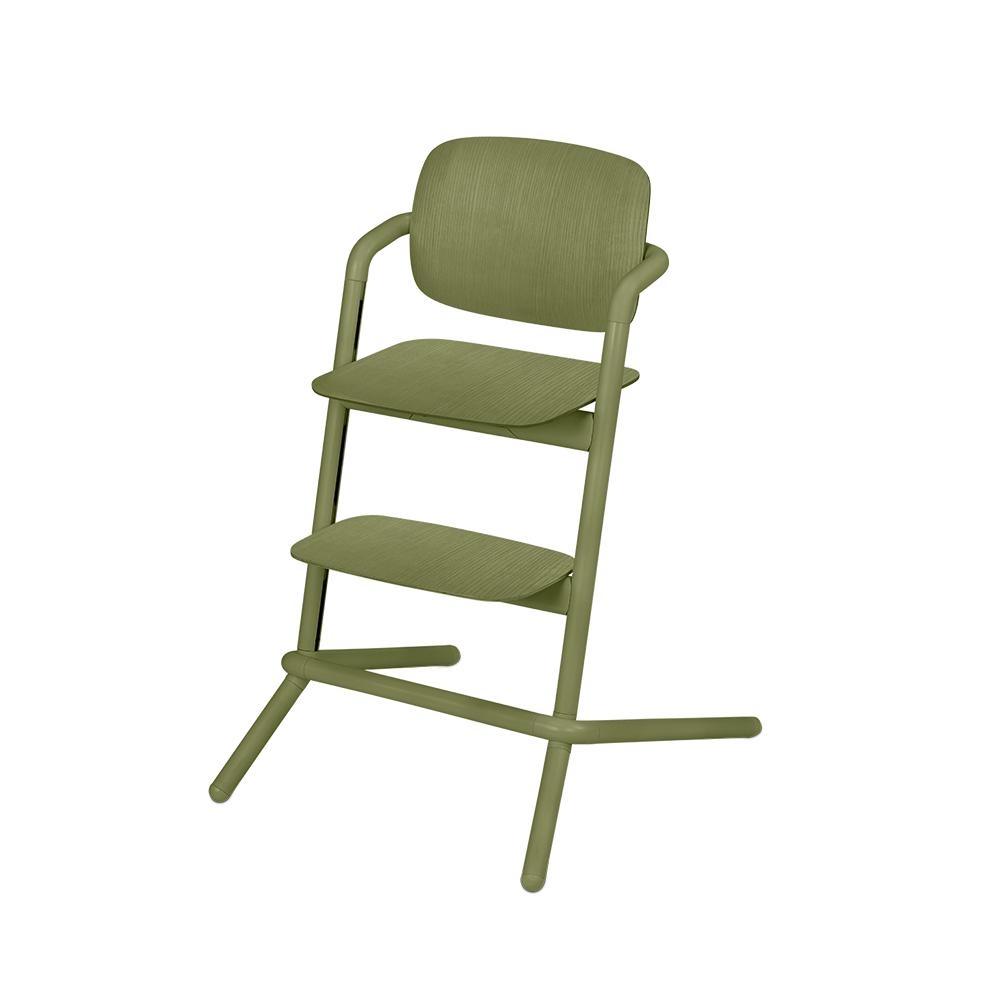 Chaise haute bois Lemo VERT Cybex