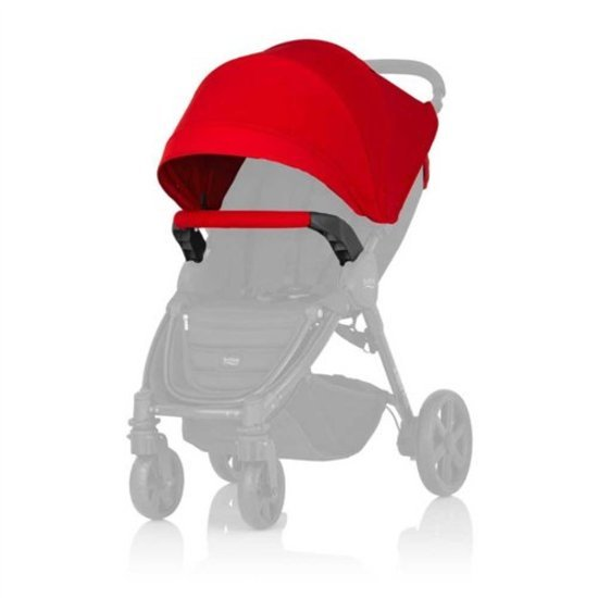 Britax Römer Canopy Pack compatible B-AGILE, B-MOTION (sauf B-AGILE DOUBLE) Flame Red
