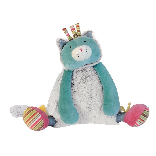 Moulin Roty Peluche musicale chat Les Pachats