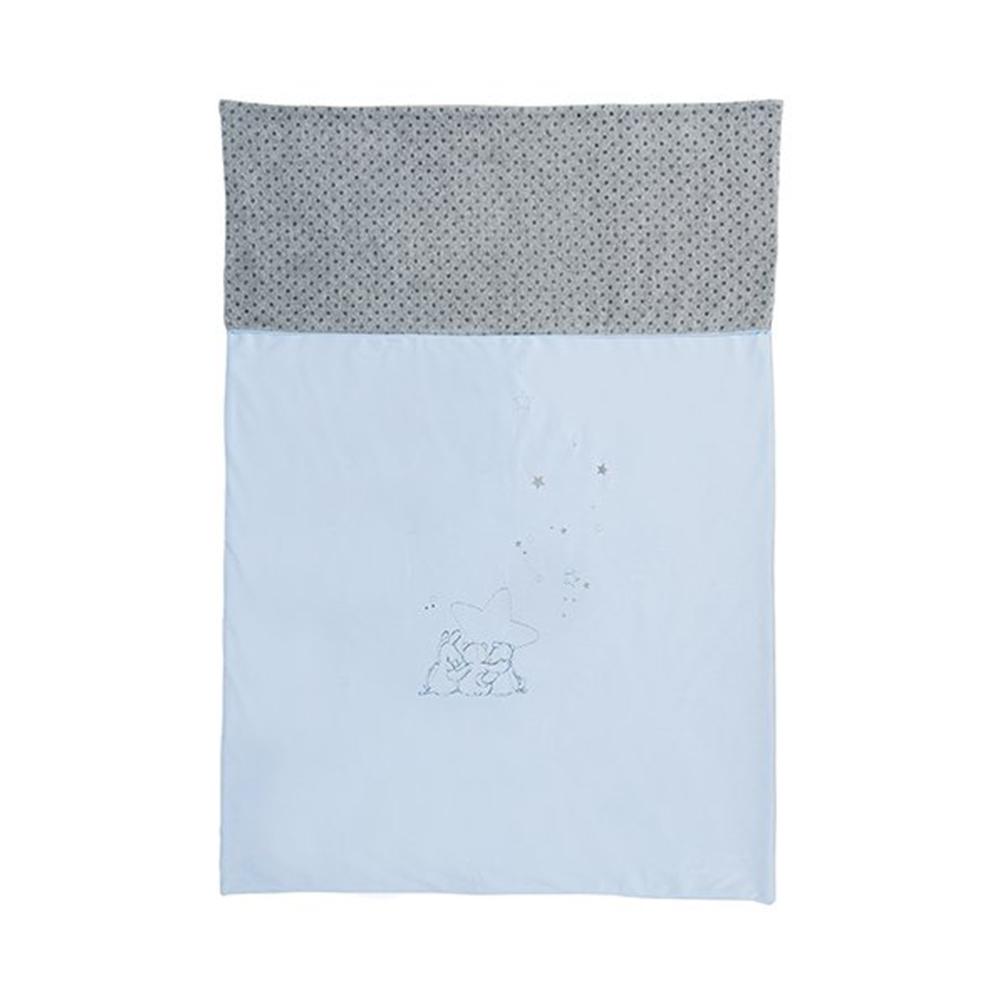 couverture 100x140cm poudre d etoiles bleu 24a903692a2